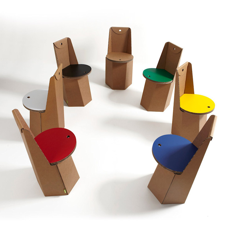 Cardboard Furniture di Mobilificio Marchese