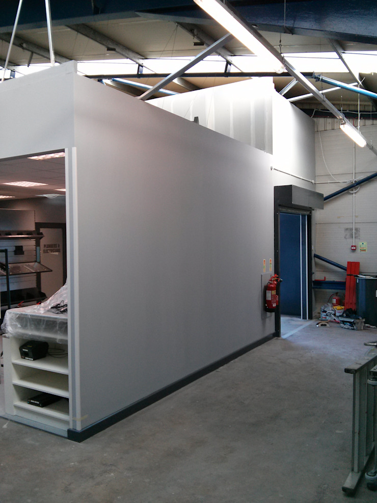 Commercial Shopfitting: industrial  by Painter Of Distinction, Industrial