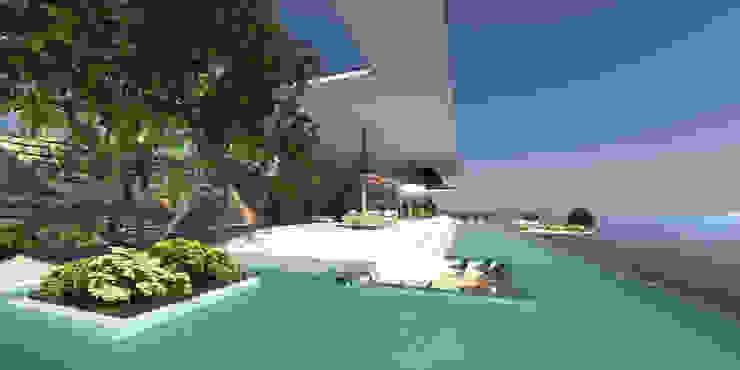 ULUWATU HOUSE Piscinas de Guz Architects