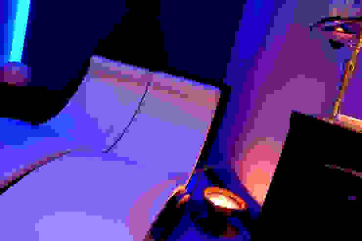 Zona relax, dettaglio Spa moderna di ITALIAN WELLNESS - The Art of Wellness Moderno