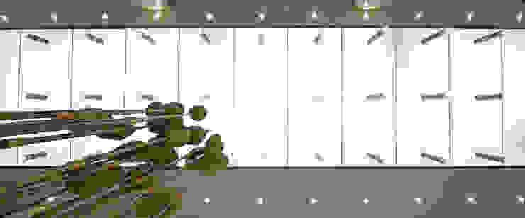 Hongcheng Bürogebäude Moderne Bürogebäude von Peter Ruge Architekten Modern