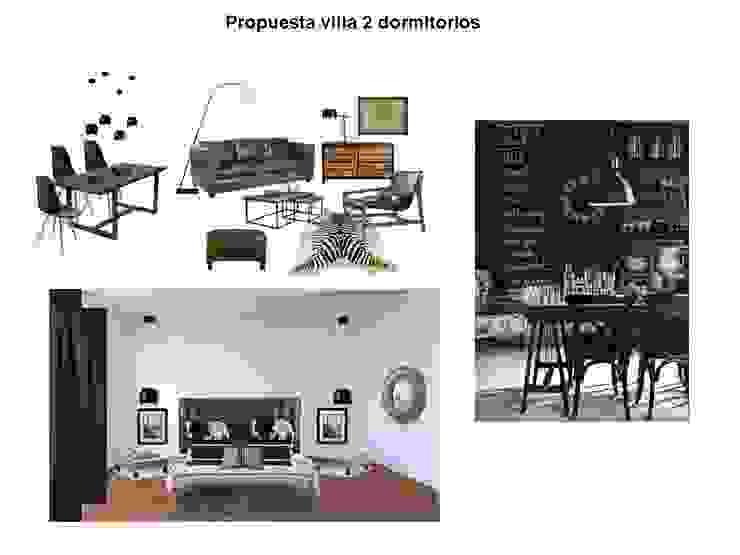 Ruang Keluarga Gaya Industrial Oleh Tatiana Doria, Diseño de interiores Industrial