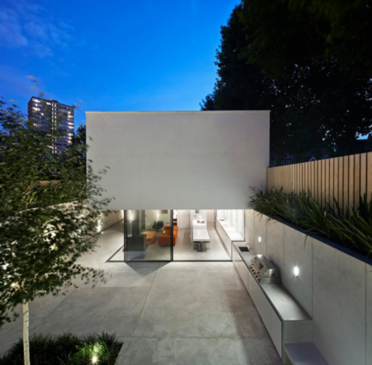 The Garden House Modern houses by IQ Glass UK Modern