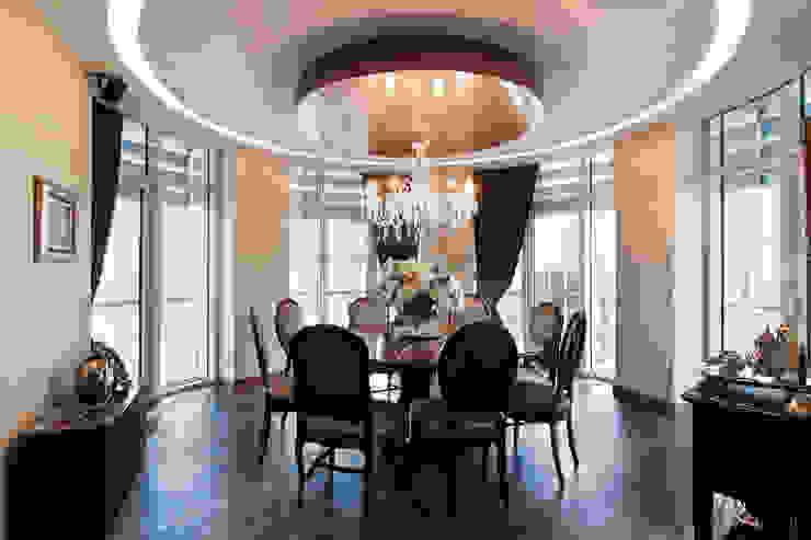 Müezzinoğlu Apartment/Selenium Panaroma Residence Classic style dining room by Pebbledesign / Çakıltașları Mimarlık Tasarım Classic