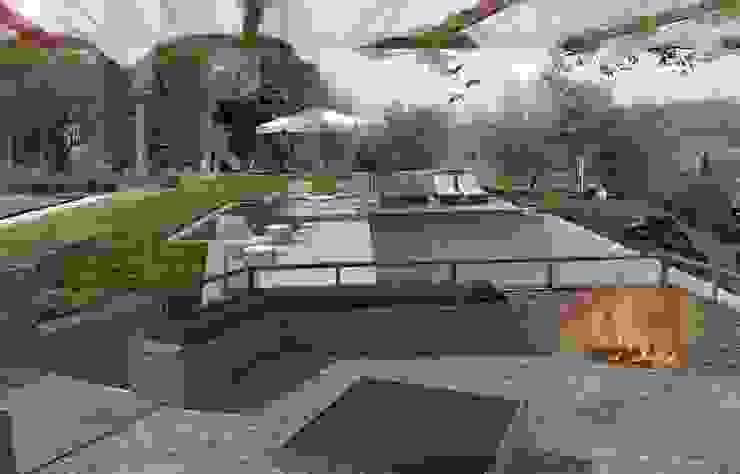 progetto di piscina privata Piscina di OROBLUPISCINE