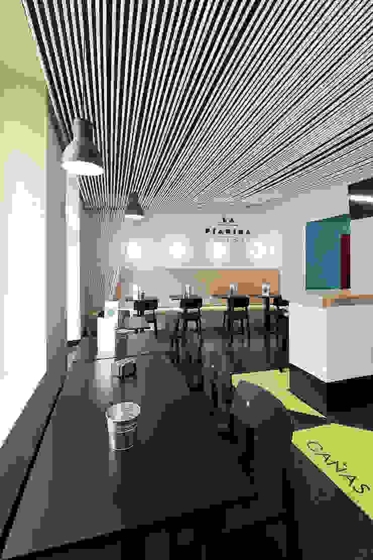La Piadina Cambados Gastronomía de estilo moderno de Nan Arquitectos Moderno