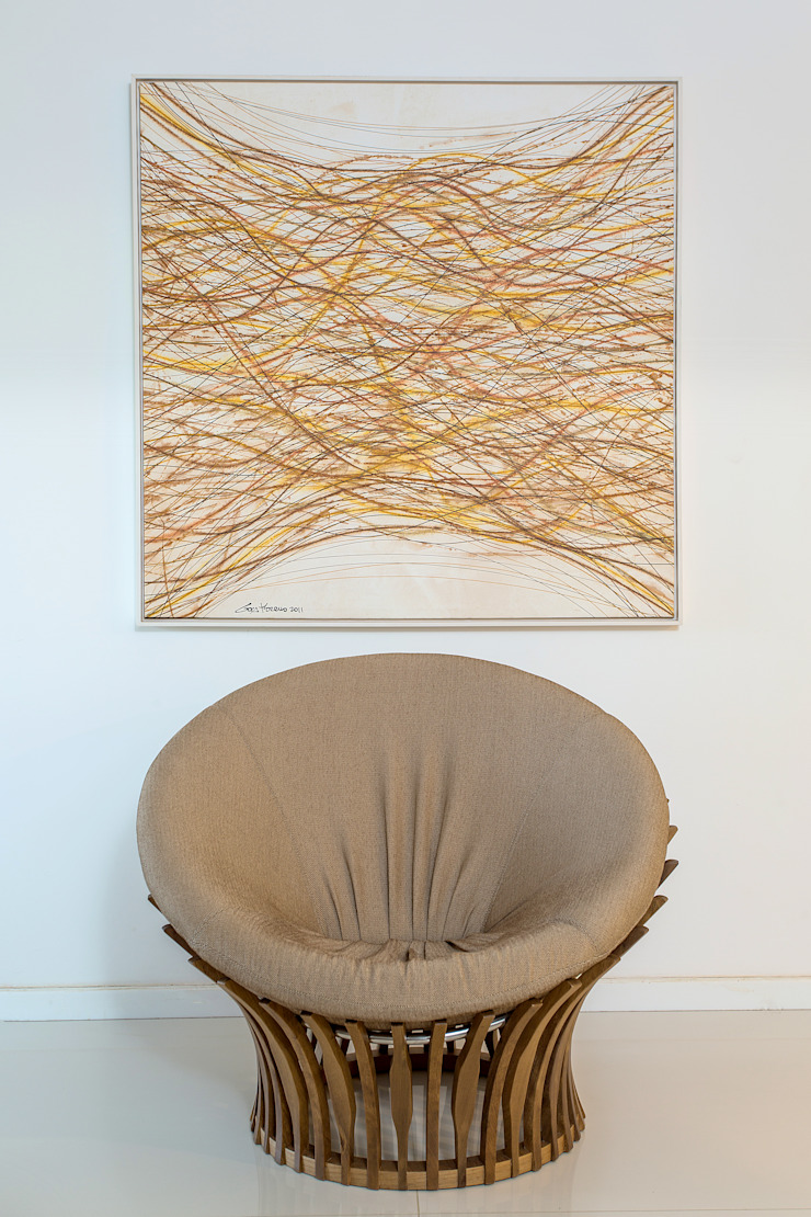 Sala Estar por Milla Holtz & Bruno Sgrillo Arquitetura Clássico