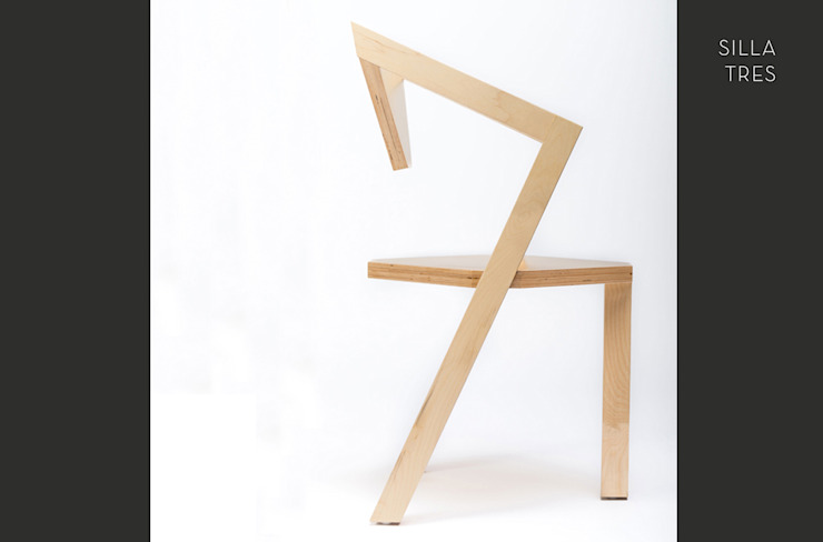 SILLA TRES (PERFIL) de MX URBANO Estudio Moderno