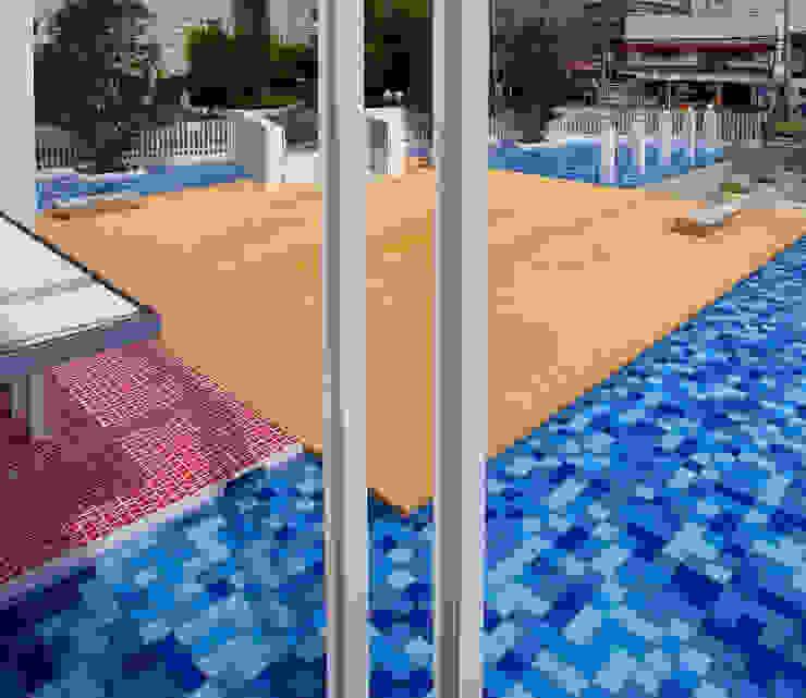 Modern Garden by ユミラ建築設計室 Modern