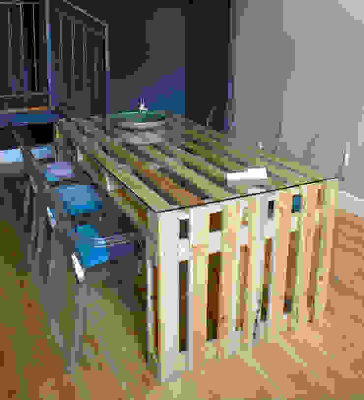 Stół z palet do JADALN od Fabryka Palet Klasyczny