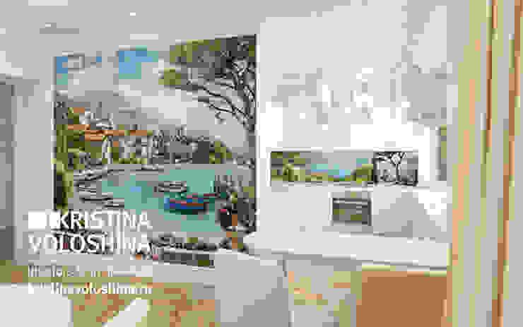 Cовременный интерьер в модном средиземноморском стиле Кухня в средиземноморском стиле от kristinavoloshina Средиземноморский
