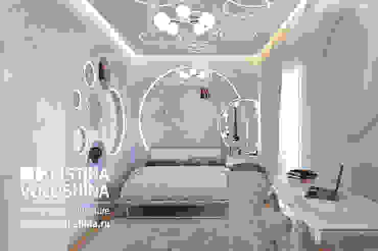 Современная квартира в Королеве Спальня в классическом стиле от kristinavoloshina Классический