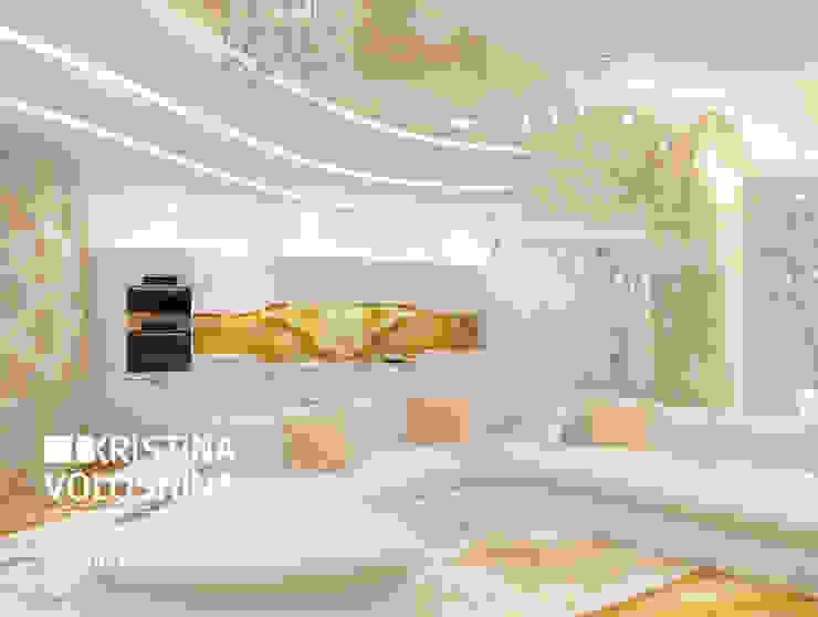 Современная квартира в Королеве Кухня в стиле модерн от kristinavoloshina Модерн