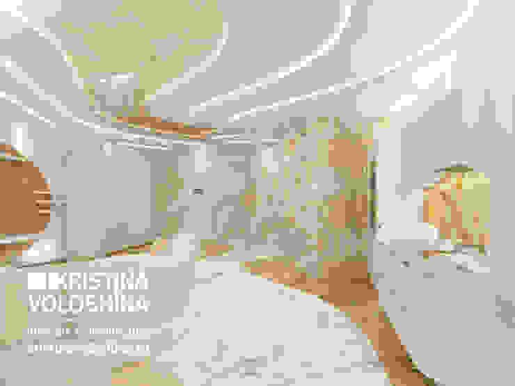 Современная квартира в Королеве Гостиная в стиле модерн от kristinavoloshina Модерн