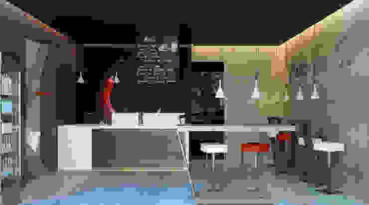 Pizzeria Lounge Bar Gastronomia in stile moderno di ANTONIO VITIELLO Moderno