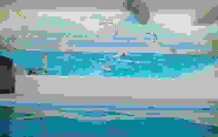 Finca <q>El Hamam</q> de mural x 3 Mediterráneo