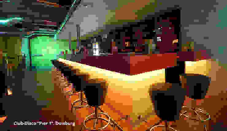 Spannendes Design Einer Diskothek In Duisburg