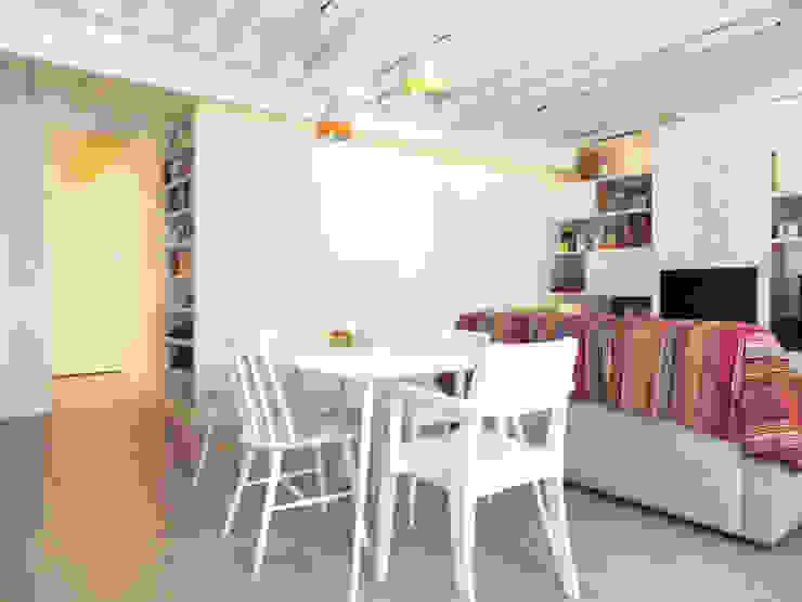 A SAINT GERMAIN DES PRES Salon moderne par EC Architecture Intérieure Moderne