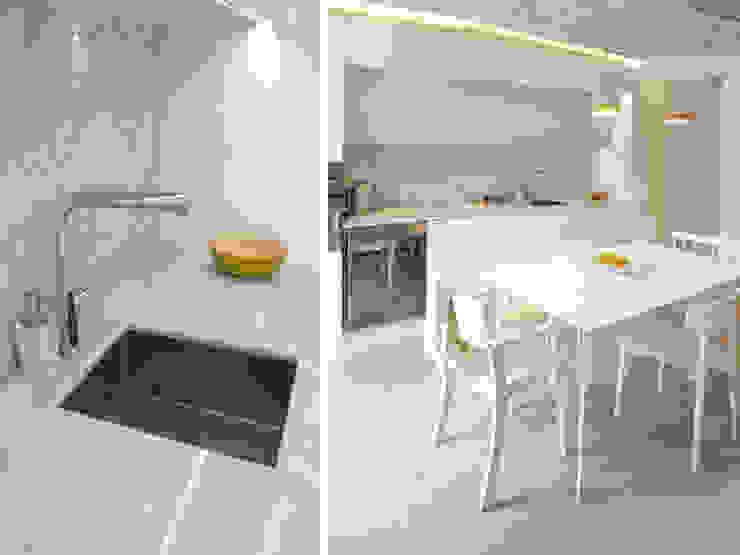 A SAINT GERMAIN DES PRES Cuisine moderne par EC Architecture Intérieure Moderne