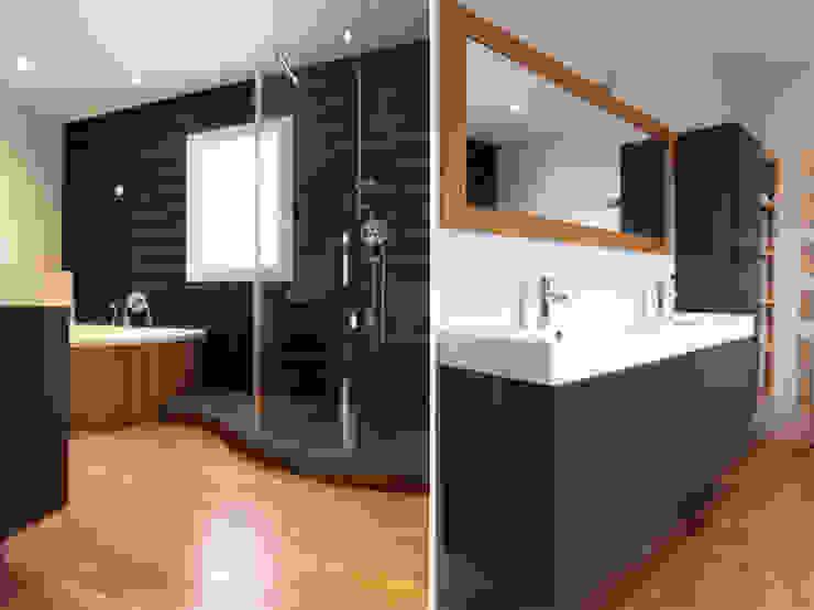 UNE MAISON A BORDEAUX Salle de bain classique par EC Architecture Intérieure Classique