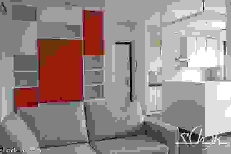 Salon minimaliste par Shock-Id Minimaliste