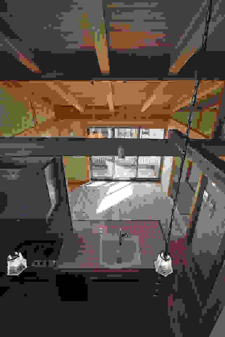西宮北口の家 モダンデザインの ダイニング の 福田建築工房 モダン