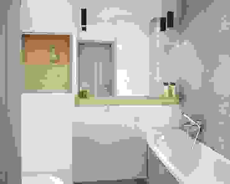 Mieszkanie łapy Nowoczesna łazienka od Anna Wrona Nowoczesny