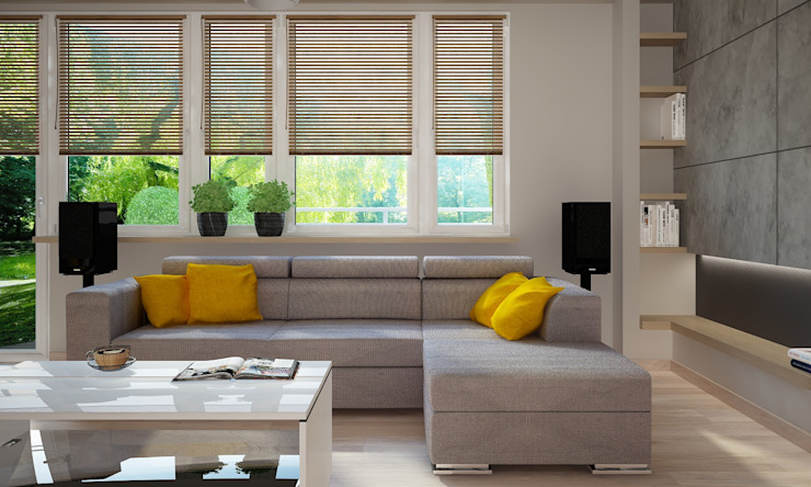 Anna Wrona Classic style living room