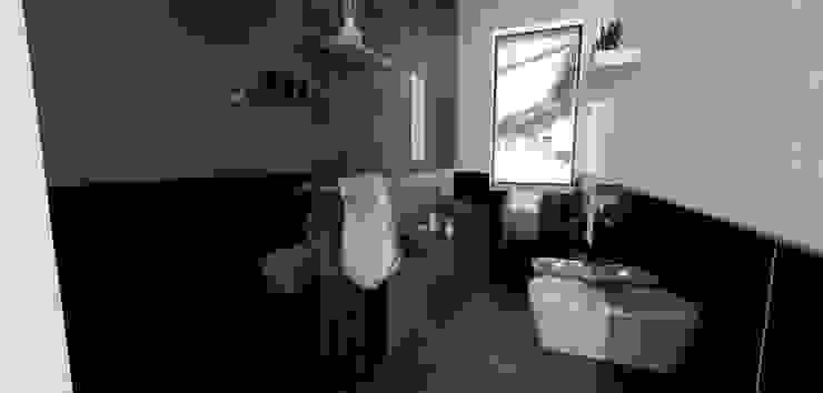 Baños de estilo rústico de Tomas Andres Rústico