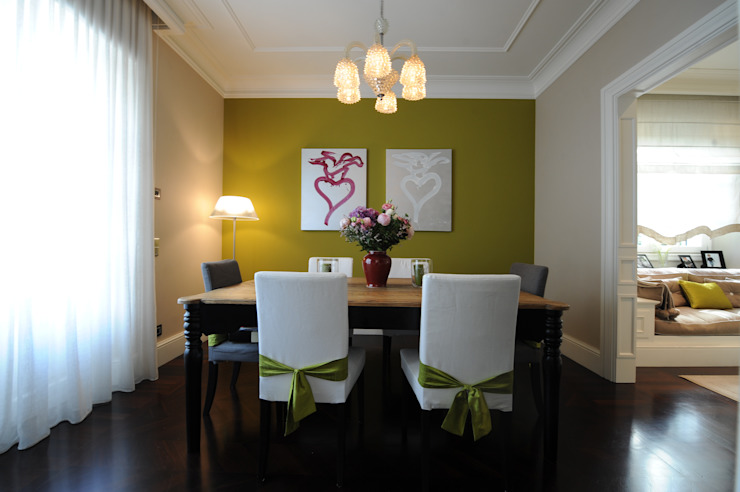 Dining room by archbcstudio, Classic