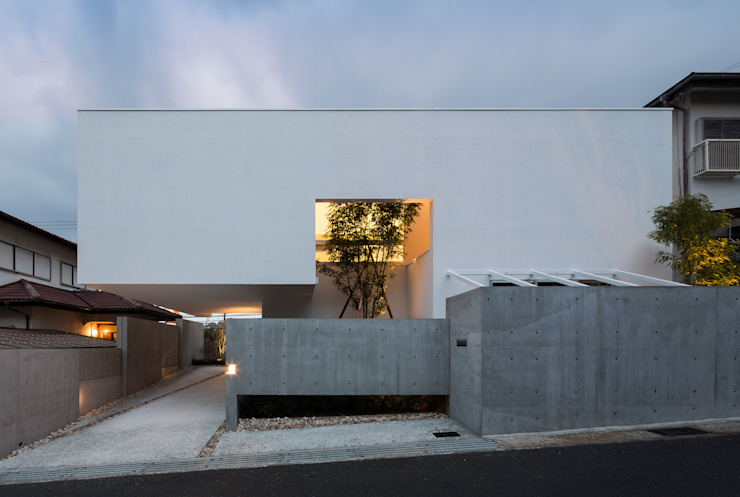 Kenji Yanagawa Architect and Associates Modern houses