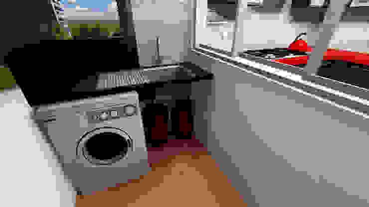 Utility Modern kitchen by Creative Curve Modern