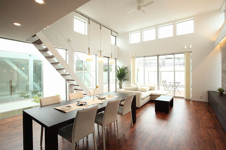 Modern dining room by TERAJIMA ARCHITECTS Modern