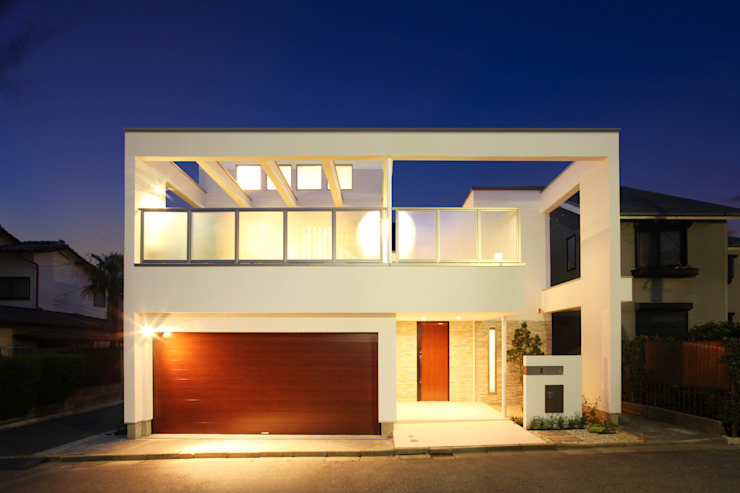 現代房屋設計點子、靈感 & 圖片 根據 TERAJIMA ARCHITECTS 現代風
