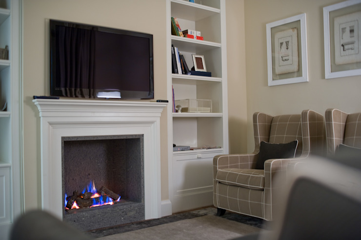 Classic style media room by archbcstudio Classic