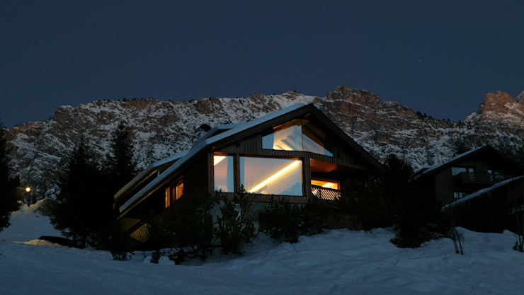 Residenza Cortina D'Ampezzo 2004 Case in stile minimalista di TIBERIO CERATO Minimalista
