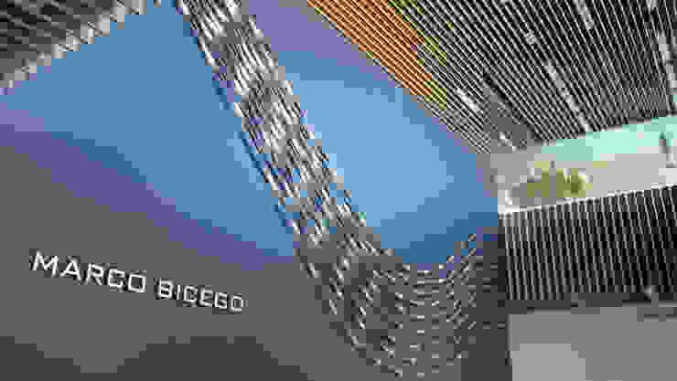 Minimalist office buildings by TIBERIO CERATO Minimalist