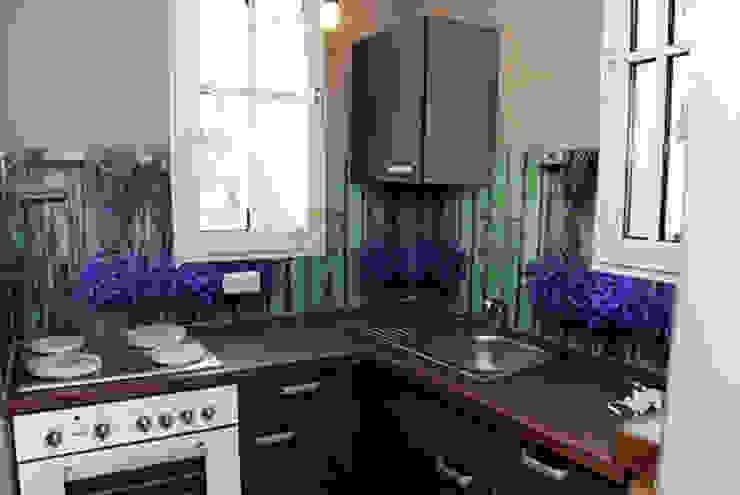 Küchenrückwand: Lavendel: modern  von Schön und Wieder,Modern