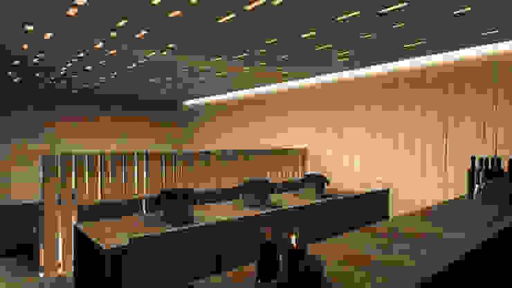residenza Bassano Del Grappa 2010 Soggiorno minimalista di TIBERIO CERATO Minimalista