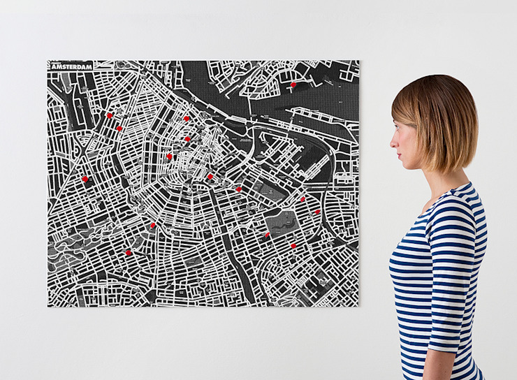 Pinmaps: modern  door Palomar, Modern