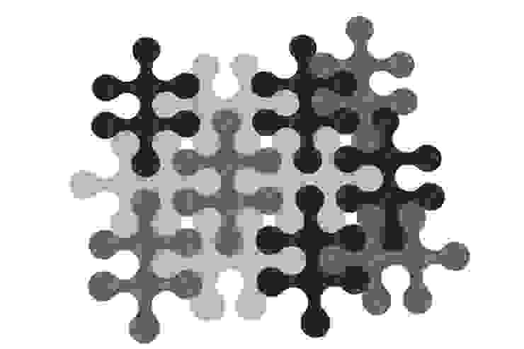 Molecule carpet: modern  by La Corbeille Éditions, Modern