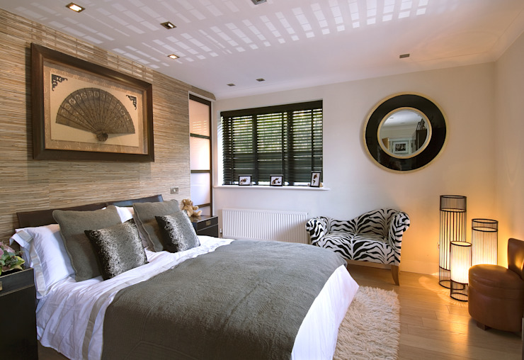 Private Residence, Master Suite Bedroom by Koubou Interiors