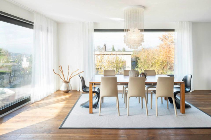 Modern Dining Room by Marty Häuser AG Modern
