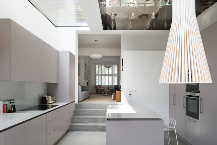 Interior Cocinas de estilo moderno de Architecture for London Moderno