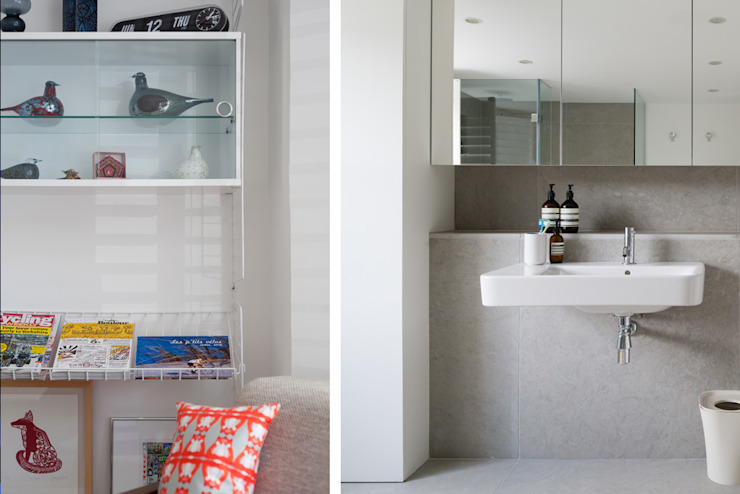 Interior Bagno moderno di Architecture for London Moderno