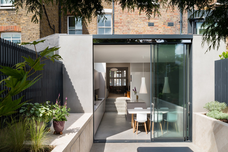 Exterior Modern houses by Architecture for London Modern