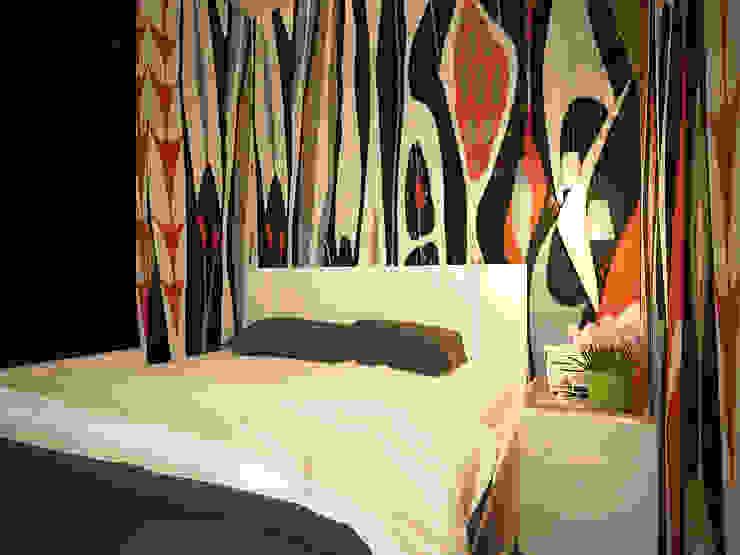 Дизайн однокомнатной квартиры. Спальня в скандинавском стиле от Александра Петропавловская Скандинавский