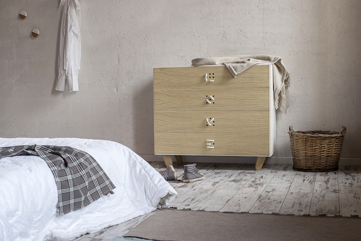 NODO chest of drawers Andrea Brugnera Design BedroomWardrobes & closets