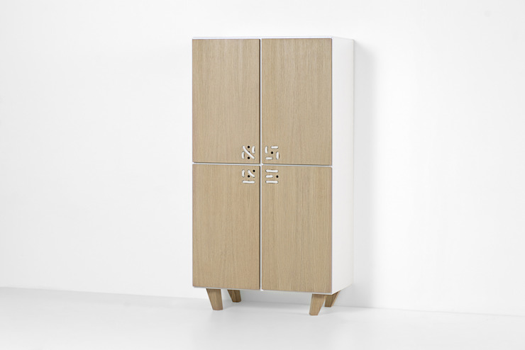 NODO cabinet Andrea Brugnera Design Living roomCupboards & sideboards