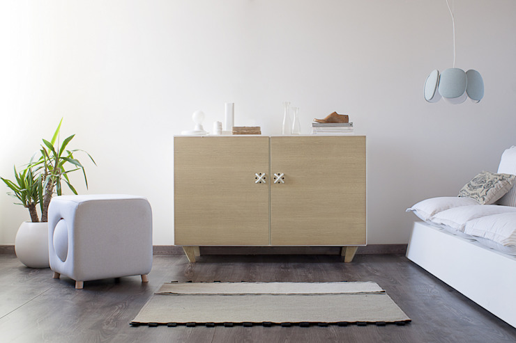 NODO sideboard Andrea Brugnera Design Living roomCupboards & sideboards